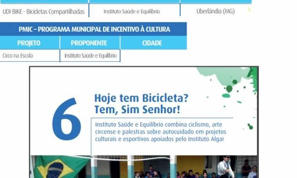 Projetos do Instituto Saúde & Equilíbrio são destaque em Revista Incentivos Fiscais do Grupo Algar