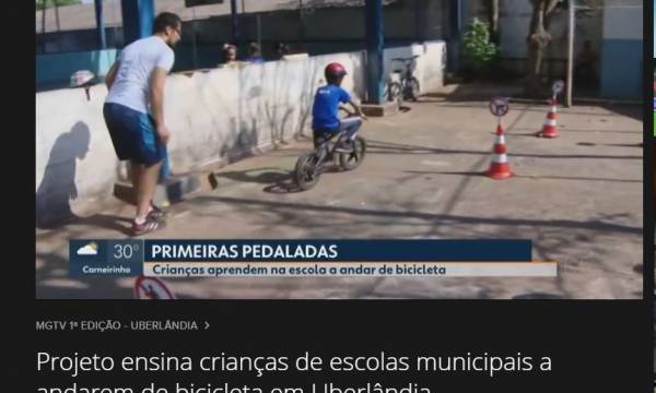 Aulas de Ciclismo Básico são destaque no MGTV 1ª Edição