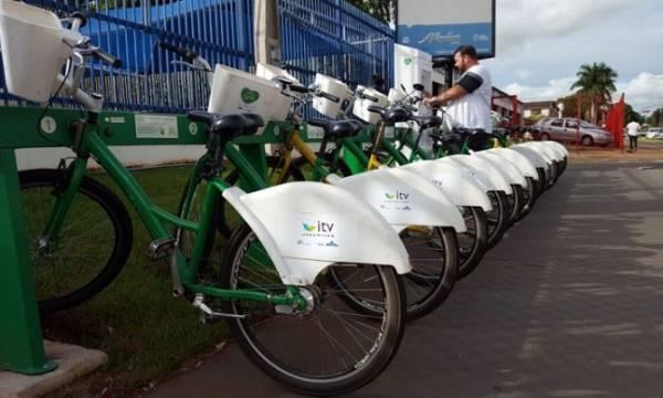 Bikes compartilhadas agora são de graça em Uberlândia (MG)
