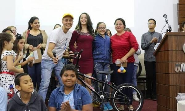 BMX, Saúde & Equilíbrio entrega bicicleta